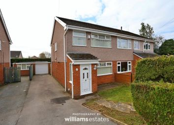 Thumbnail 3 bed semi-detached house to rent in Ash Grove, Leeswood, Mold