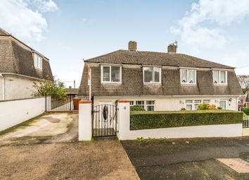 Thumbnail 3 bed semi-detached house for sale in Lympne Avenue, Plymouth