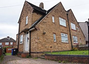 Thumbnail 3 bed semi-detached house for sale in Browning Road, Sheffield