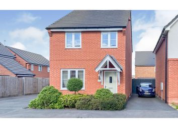 Thumbnail 3 bed detached house for sale in Ernest Cope Road, Crewe