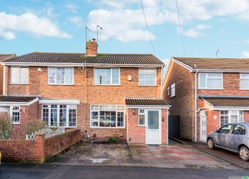 Thumbnail 3 bed semi-detached house for sale in Tolman Drive, Glascote, Tamworth