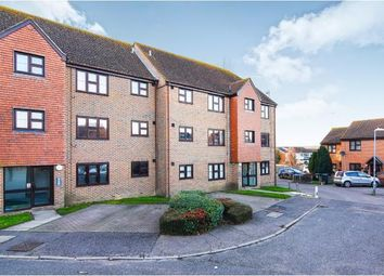 Thumbnail 2 bed flat for sale in Abridge, Romford, Essex