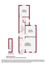 Thumbnail 2 bed maisonette for sale in Rathfern Road, London