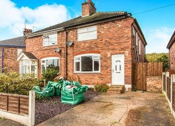 Thumbnail 3 bed semi-detached house for sale in Robert Street, Northwich