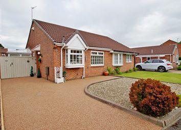 Thumbnail 2 bed semi-detached bungalow for sale in Priors Grange, High Pittington, Durham