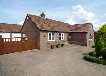 Thumbnail 3 bed bungalow for sale in Gainsborough Road, Middle Rasen, Lincolnshire