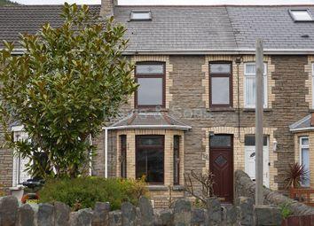 Thumbnail 3 bed terraced house for sale in Waunfawr Terrace, Cross Keys, Newport.