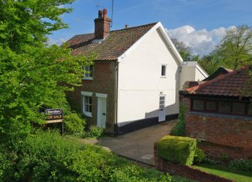 Thumbnail 2 bedroom cottage for sale in The Street, Walsham-Le-Willows, Bury St. Edmunds