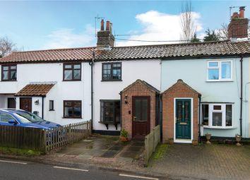 Thumbnail 2 bedroom terraced house for sale in Stoke Road, Poringland, Norwich, Norfolk
