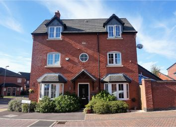 Thumbnail 4 bedroom detached house for sale in Thomas Drive, Countesthorpe