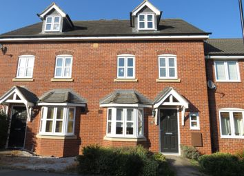 Thumbnail 4 bedroom terraced house for sale in Manhattan Way, Coventry