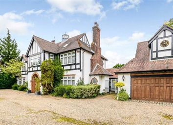 Thumbnail 5 bed detached house for sale in The Ridgeway, Cuffley, Hertfordshire