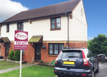 Thumbnail 2 bed semi-detached house to rent in Kingfisher Close, Torquay