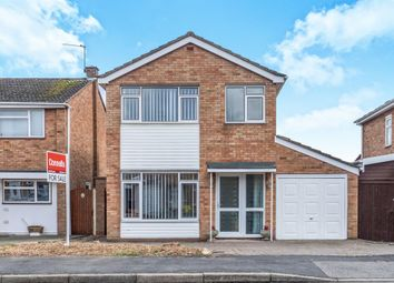 Thumbnail 3 bed detached house for sale in Brunel Close, Whitnash, Leamington Spa