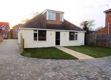 Thumbnail 3 bedroom detached bungalow for sale in Southampton Road, Park Gate, Southampton.