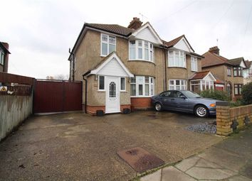 Thumbnail 3 bed semi-detached house for sale in Trent Road, Ipswich