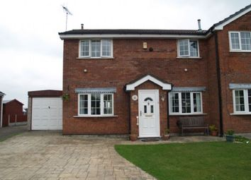 Thumbnail 4 bed semi-detached house for sale in Aragon Close, Lydiate, Liverpool