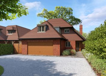 Thumbnail 4 bed detached house for sale in Uplands Road, Denmead, Waterlooville