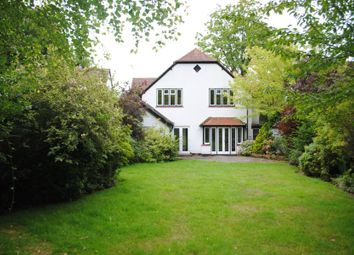Thumbnail 4 bed detached house to rent in White Rose Lane, Woking