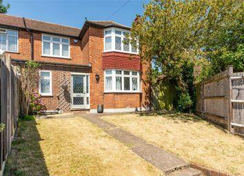 Thumbnail 3 bed semi-detached house for sale in Montrose Walk, Weybridge, Surrey