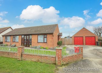 Thumbnail 4 bed detached bungalow for sale in Long Beach Estate, Hemsby, Great Yarmouth