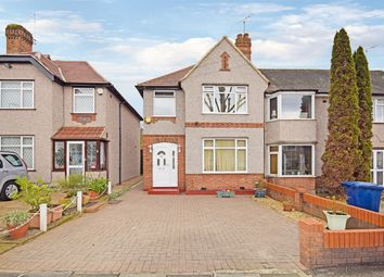 Thumbnail 3 bed end terrace house for sale in Robin Hood Way, Greenford, Middlesex