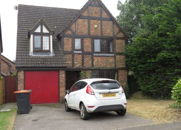Thumbnail 4 bed detached house for sale in Prebendal Drive, Slip End, Luton