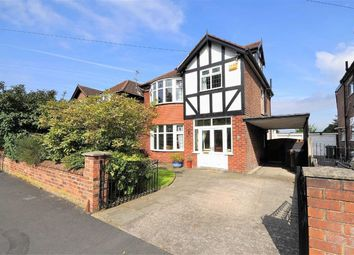 Thumbnail 4 bed detached house for sale in Buckingham Road, Heaton Moor, Stockport, Cheshire