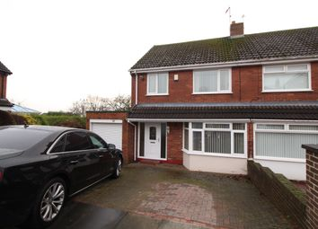 Thumbnail 3 bedroom semi-detached house for sale in Coquet Grove, Throckley, Newcastle Upon Tyne