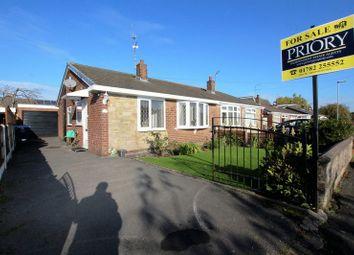 Thumbnail 2 bed semi-detached bungalow for sale in Lyndhurst Drive, Brown Lees, Biddulph
