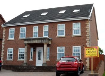 Thumbnail 6 bed detached house for sale in Aber Llwychwr, Llangennech, Carmarthenshire