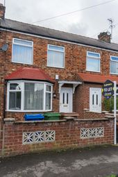 Thumbnail 2 bed terraced house to rent in Crossfield Road, Hessle