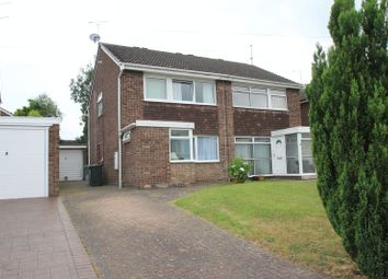 Thumbnail 3 bedroom semi-detached house for sale in Cherrybrook Drive, Penkridge, Stafford
