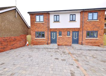 Thumbnail 3 bed semi-detached house for sale in Cedar Road, Hutton, Brentwood, Essex