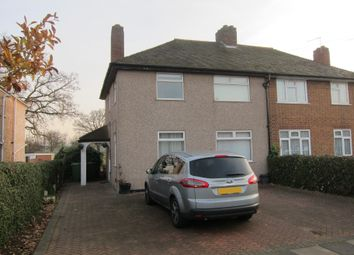 Thumbnail 3 bed semi-detached house for sale in Hicks Avenue, Greenford