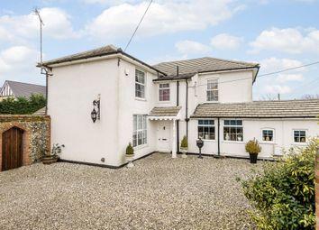 Thumbnail 4 bed detached house for sale in Haverhill Road, Kedington, Haverhill