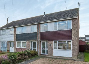 Thumbnail 3 bed semi-detached house for sale in Church Close, Roydon, Diss