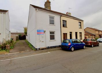Thumbnail 3 bed terraced house for sale in Church Street, Stanground, Peterborough