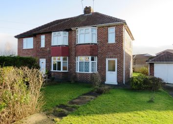 Thumbnail 2 bedroom semi-detached house for sale in Woodhouse Grove, York