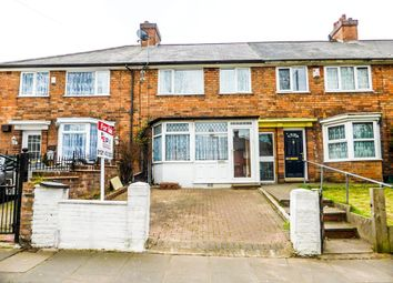 Thumbnail 3 bed terraced house for sale in Hobmoor Road, Yardley, Birmingham, West Midlands