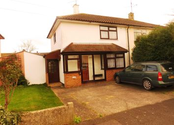 Thumbnail 2 bedroom semi-detached house for sale in Rothbury Road, Chelmsford