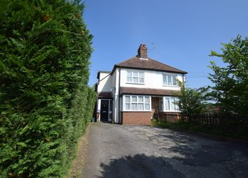 Thumbnail 3 bedroom semi-detached house for sale in Ash Church Road, Ash, Aldershot