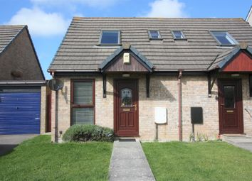 Thumbnail 1 bed semi-detached house to rent in Willow Close, Quintrell Downs, Newquay