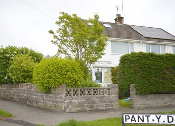 Thumbnail 4 bed semi-detached house for sale in Pant Y Dwr, Three Crosses, Swansea