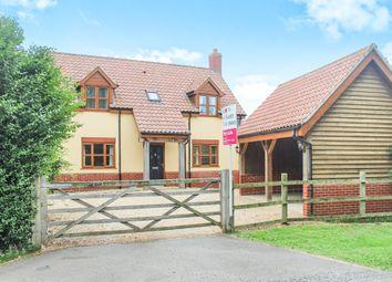 Thumbnail 3 bed detached house for sale in Low Road, Walpole Cross Keys, King's Lynn