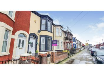 Thumbnail 4 bed terraced house for sale in Carisbrooke Road, Liverpool