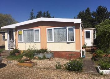 Thumbnail 2 bed mobile/park home for sale in Beck Row, Bury St. Edmunds, Suffolk