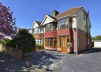 Thumbnail 3 bed semi-detached house for sale in Westbrook Avenue, Margate