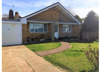 Thumbnail 3 bed detached bungalow for sale in Elgin Gardens, Seaford