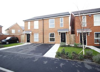 Thumbnail 2 bedroom semi-detached house for sale in Abbots Fold Court, Burton-On-Trent